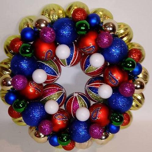 Multi-Colored Wreath