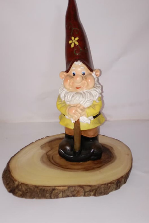 Gnome with Tall Red Hat