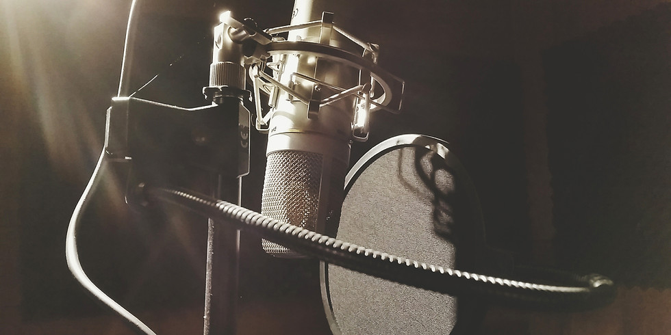 Animation Voice-Over Workshop for ADULTS