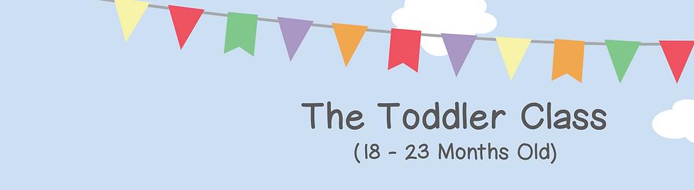 Toddler Class Banner