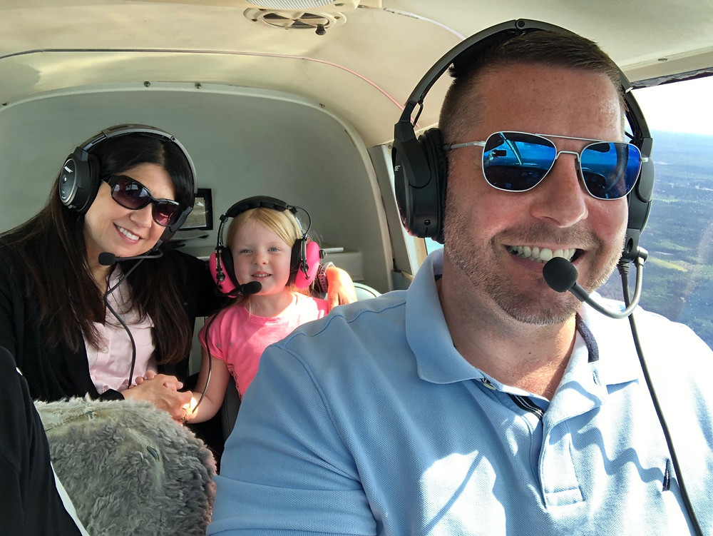 Mike and his family loving the new experience!