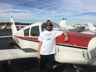 Tyler Beauchemin completes First Solo Flight!