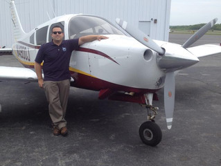Alan Tavares Earns Commercial Pilot Certificate