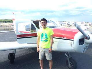 Stan Tran first solo flight!