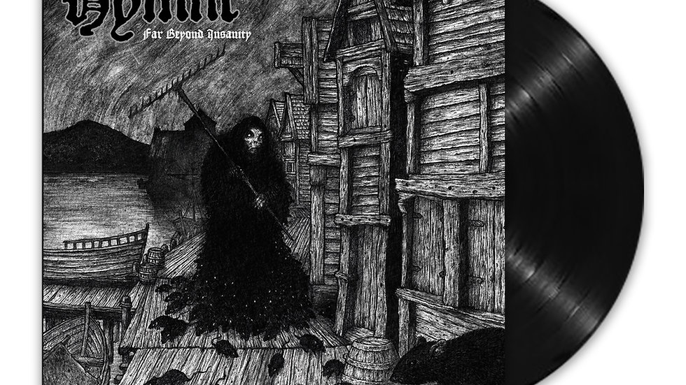 Black Vinyl Far Beyond Insanity