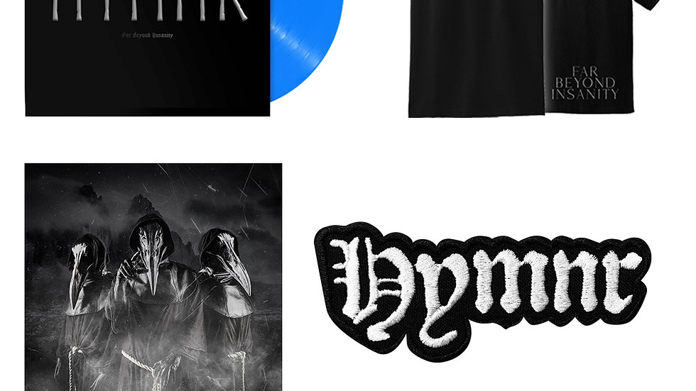 Special Limited Edition, Blue Vinyl Far Beyond Insanity
