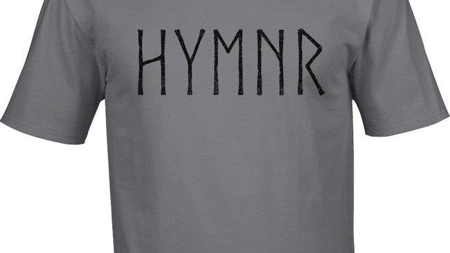 "T-shirt ""Rune Logo""Grey"