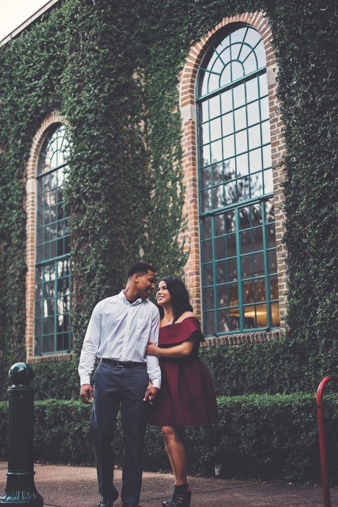 Ruth + Jovan | Houston Engagement Photographer | Houston, TX