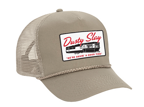 Khaki Mobile Home Trucker Hat