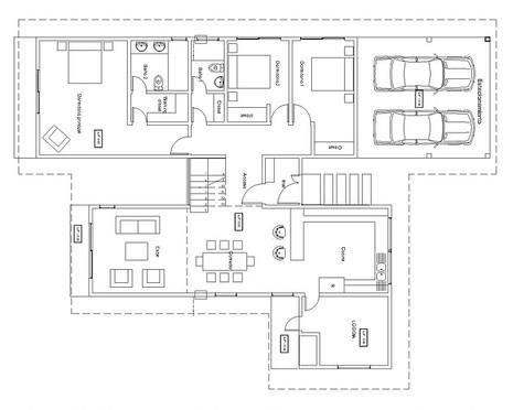 Casa 220m2, Primer Piso  Chicureo, Medit