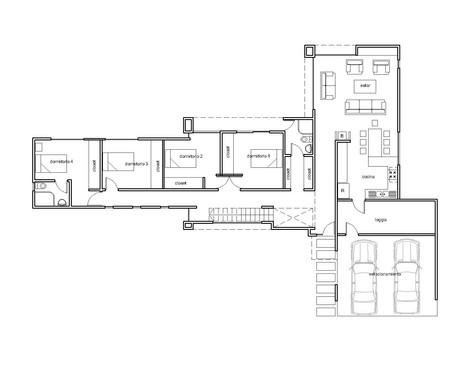Casa 230m2  - Mediterranea, Planta 1er P