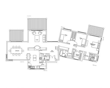 Casa de 221m2, Maria Pinto, Primer Piso.