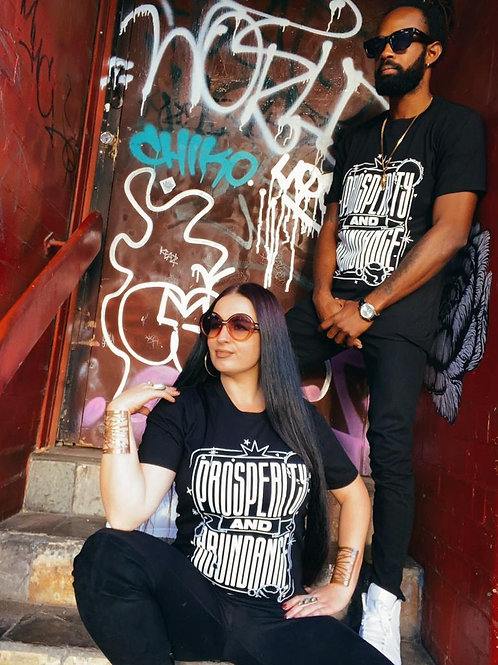Abundance & Prosperity T-Shirt Black