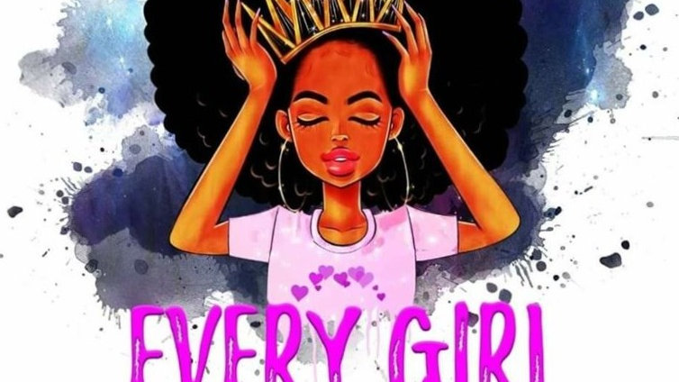 Every Girl Wears a Crown: Motivational Activity Coloring Book