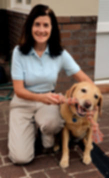 Owner of Simply Love Dogs canine behaviour consulting and dog training Sharon Wishart
