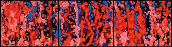 2012; oil on canvas, 140 X 510 cm © pablo candal