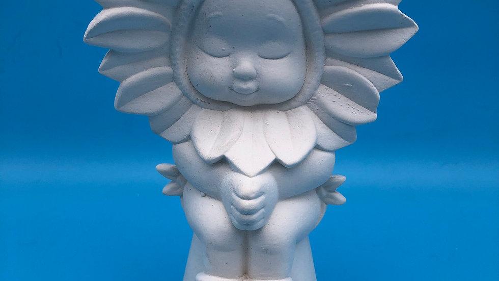 Sunflower Baby on pot - Large