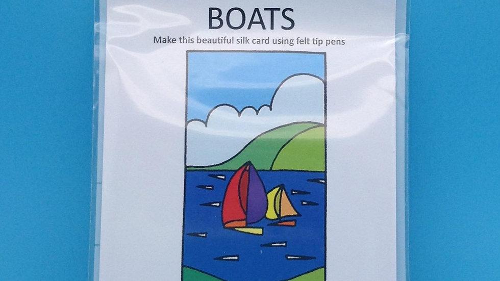 Silk Card Kit - Boats