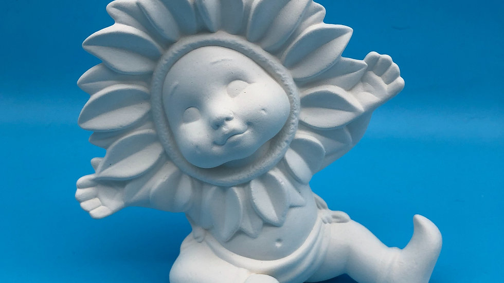 Sunflower Baby Hands up - Large