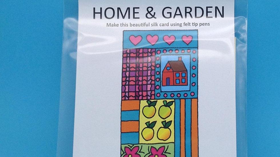 Silk Card Kit - Home and Garden