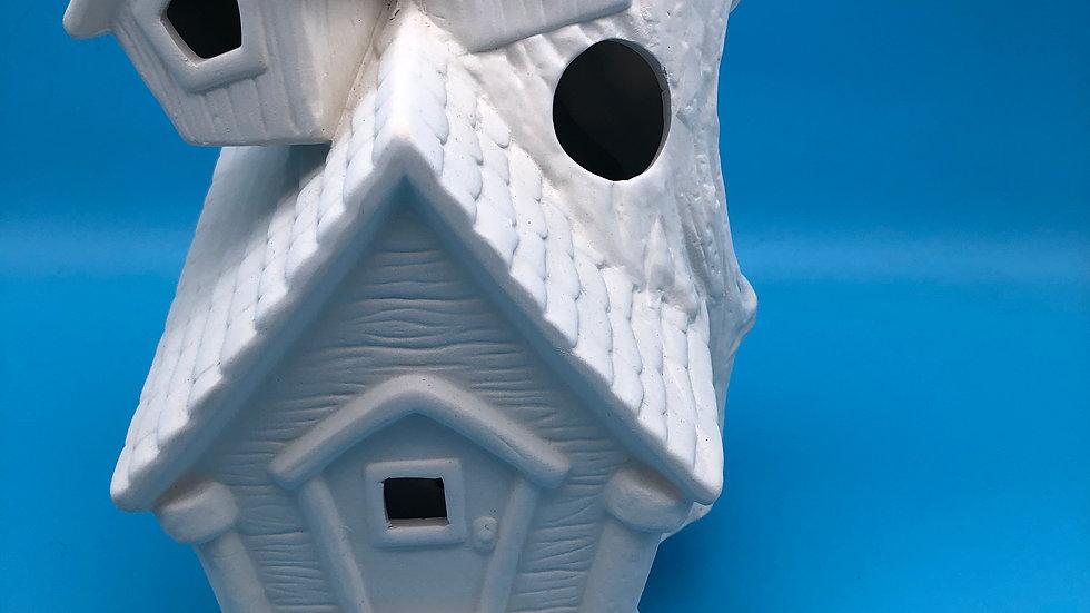Whimsical House Lamp