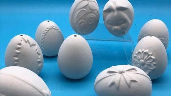 Hanging Egg - varied designs
