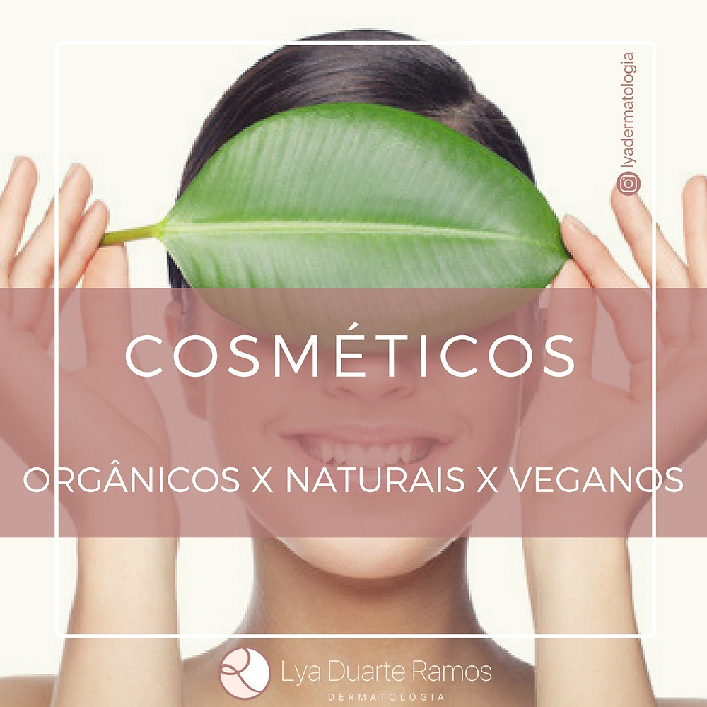 cometicos organicos naturais