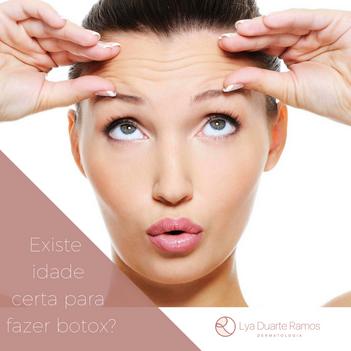 Existe idade certa para fazer Botox?