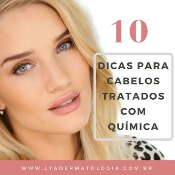 10 dicas para os cabelos quimicamente tratados