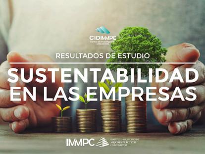 Resultados de estudios: Sustentabilidad en las empresas