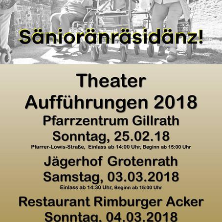 """25.2.18 Aufführung Theatergruppe """"Platte Schöpp"""""""