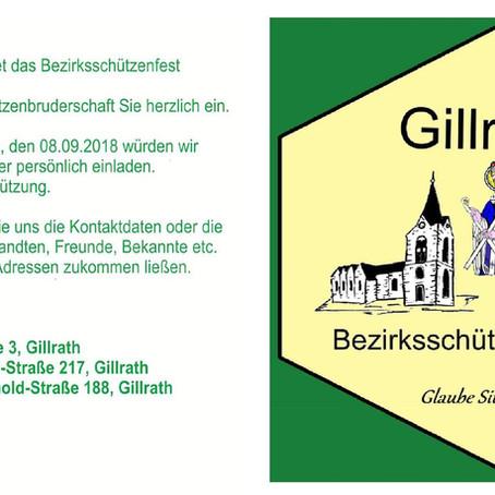 Einladung ehemaliger Gillrather Bürger