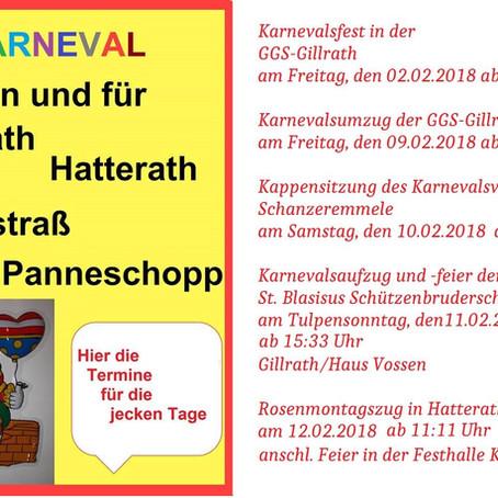 Karneval 2018 in Gillrath/Hatterath