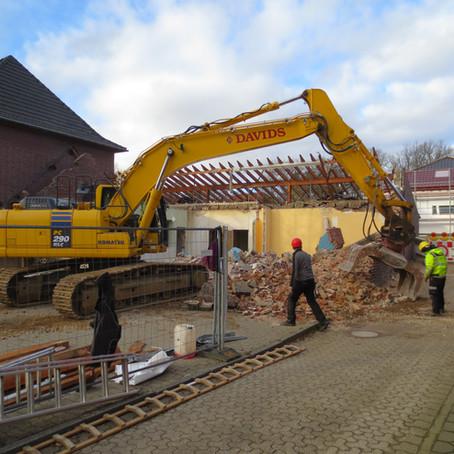 Jugendheim wird abgerissen