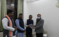 दिल्ली में केंद्रीय पर्यावरण मंत्री श्री प्रकाश जावड़ेकर जी से मुलाकात