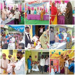 """""""अन्न उत्सव"""" के तहत राशन वितरण- #KhajurahoLoksabha"""