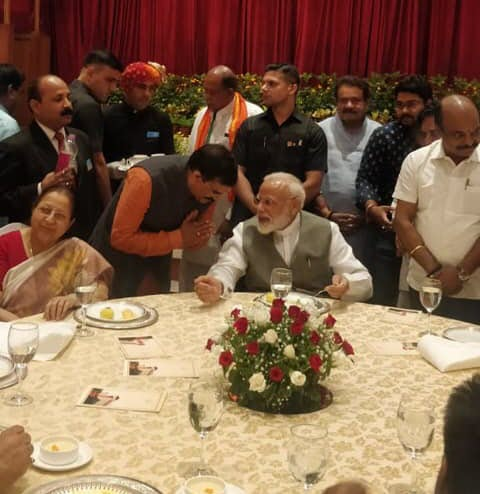 माननीय प्रधानमंत्री श्री नरेंद्र मोदी जी
