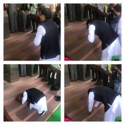 भाजपा संसदीय दल की बैठक