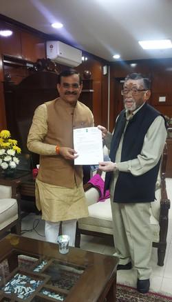 Meeting with Sh Santosh Gangwar