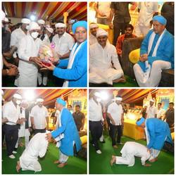 नरसिंहपुर में श्री रावतपुरा सरकार के दर्शन का सौभाग्य प्राप्त हुआ।