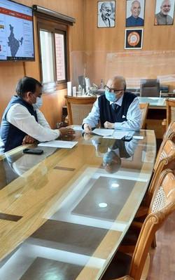 रेलवे बोर्ड के अध्यक्ष एवं सीईओ श्री सुनीत शर्मा जी से मुलाकात