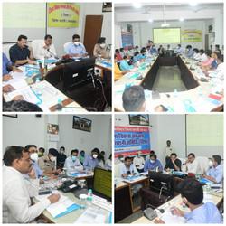 जिला विकास समन्वय और निगरानी समिति बैठक - कटनी