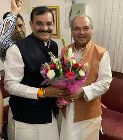 कृषि मंत्री श्री नरेंद्र सिंह तोमर