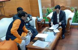 केंद्रीय मंत्री श्री किरण रिजिजू से मुलाकात..