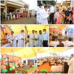 """प्रधानमंत्री गरीब कल्याण अन्न योजना के अंतर्गत आयोजित """"अन्न उत्सव"""" कार्यक्रम"""