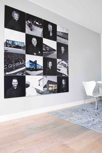 Fotocollage Courage Architecten