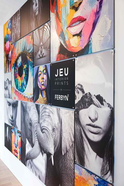 Fotocollage JEU Interior