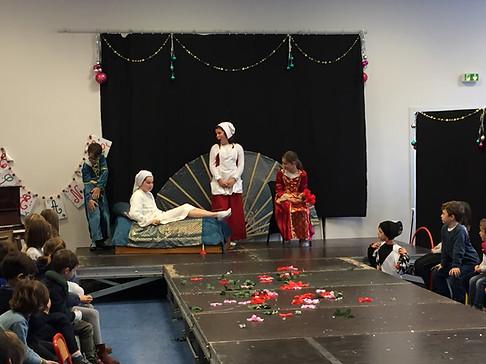 Théâtre avec les CM2 : Le malade imaginaire.