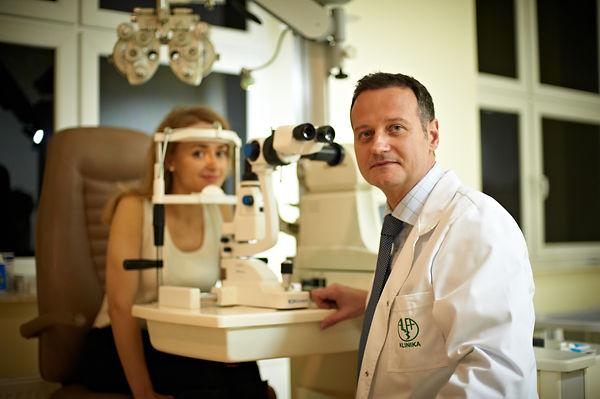 zabieg laserowy oka warszawa