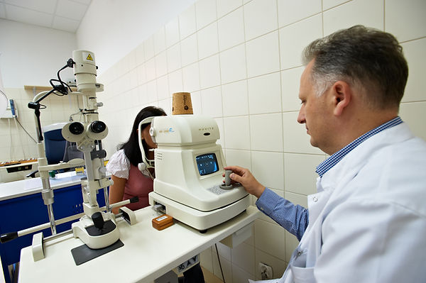 autorefraktometr, dr Dariusz Dudek